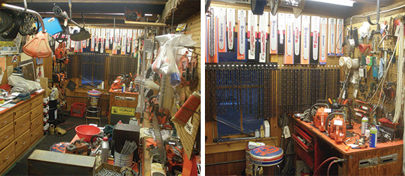 Inside of Wood 'n Saws store - 1