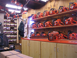 Inside of Wood 'n Saws store - 2