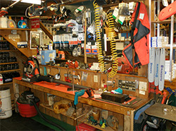 Inside of Wood 'n Saws store - 3